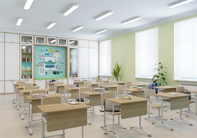 Концепции реконструкции и дизайна московских школ