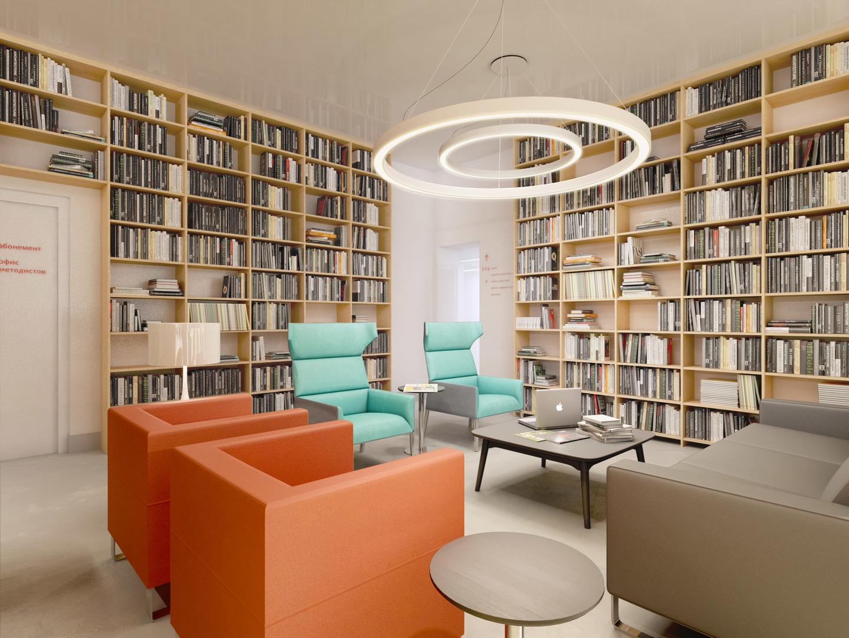 Проект «Читающая Сатка». Дизайн городской библиотеки