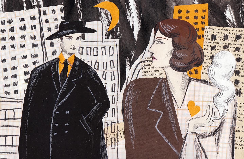 Серия иллюстраций к рассказу О.Генри «Русские соболя»