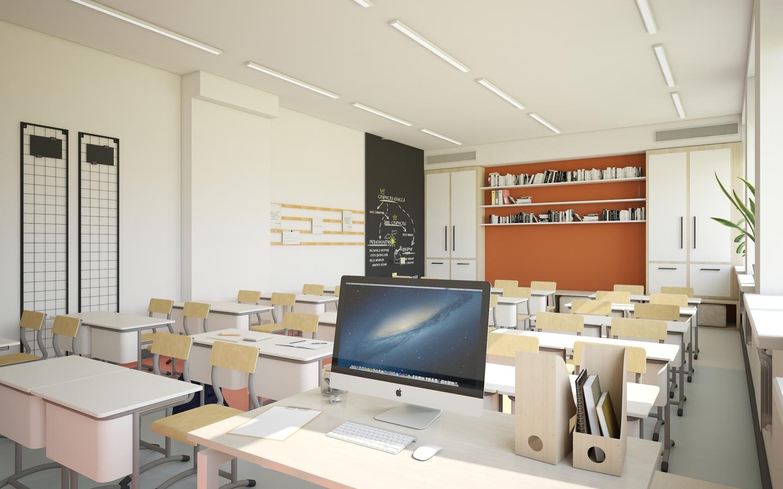Дизайн образовательного пространства для школ в г. Грозный