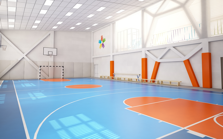 Дизайн пространства школы № 41 в г. Новокузнецке