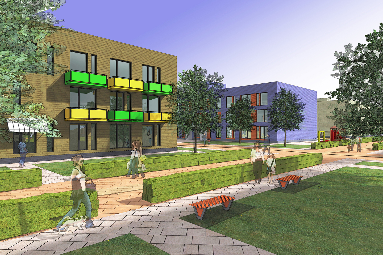 Концепция застройки жилого района «ПРАВОБЕРЕЖЬЕ – ЦЕНТР»