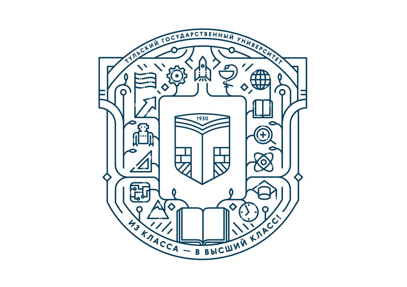 Айдентика для Тульского государственного университета - hsedesignlab.ru