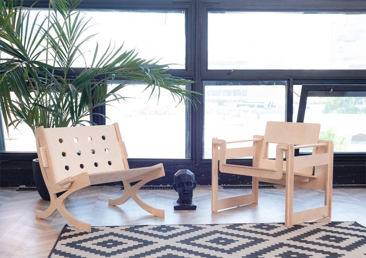 Мебельный конструктор FUNERA. Разработка продукта и брендинг от Лаборатории дизайна НИУ ВШЭ - hsedesignlab.ru