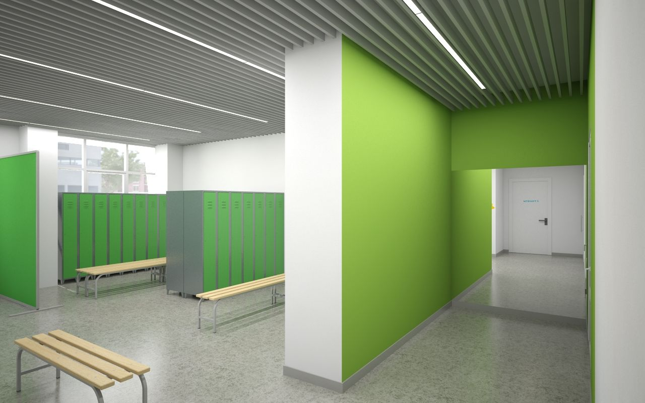 Лаборатория дизайна НИУ ВШЭ Дизайн пространств для школы в городе Новокузнецке Лаборатория дизайна НИУ ВШЭ - hsedesignlab.ru.