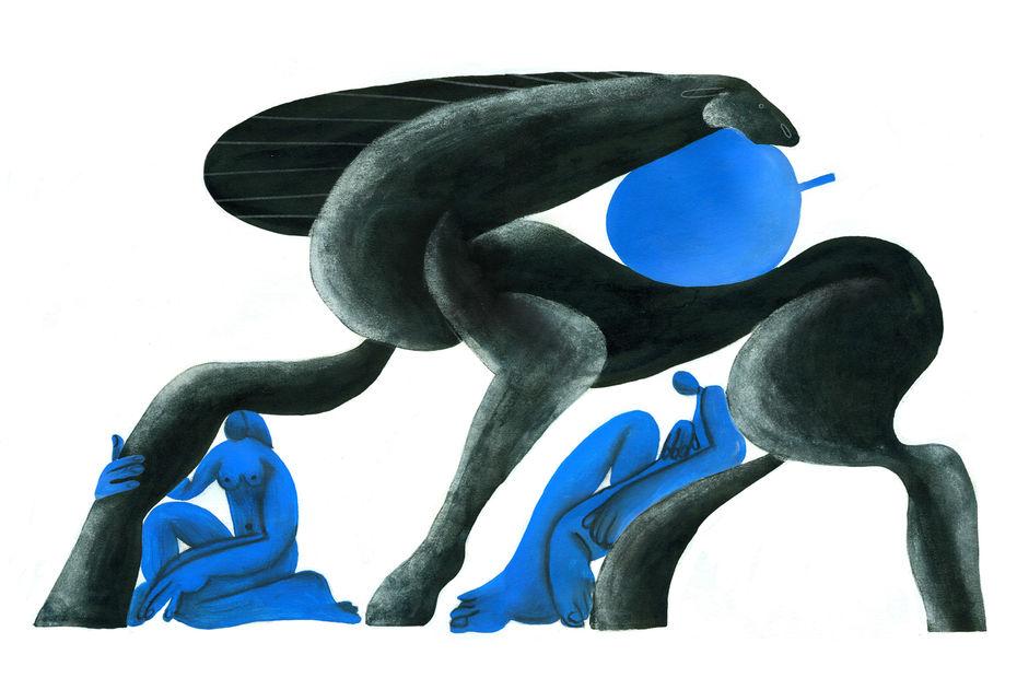 «Кони и яблоки» - автор А. Панина