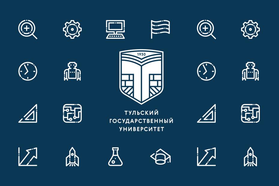 Разработка фирменного стиля Тульского государственного университета