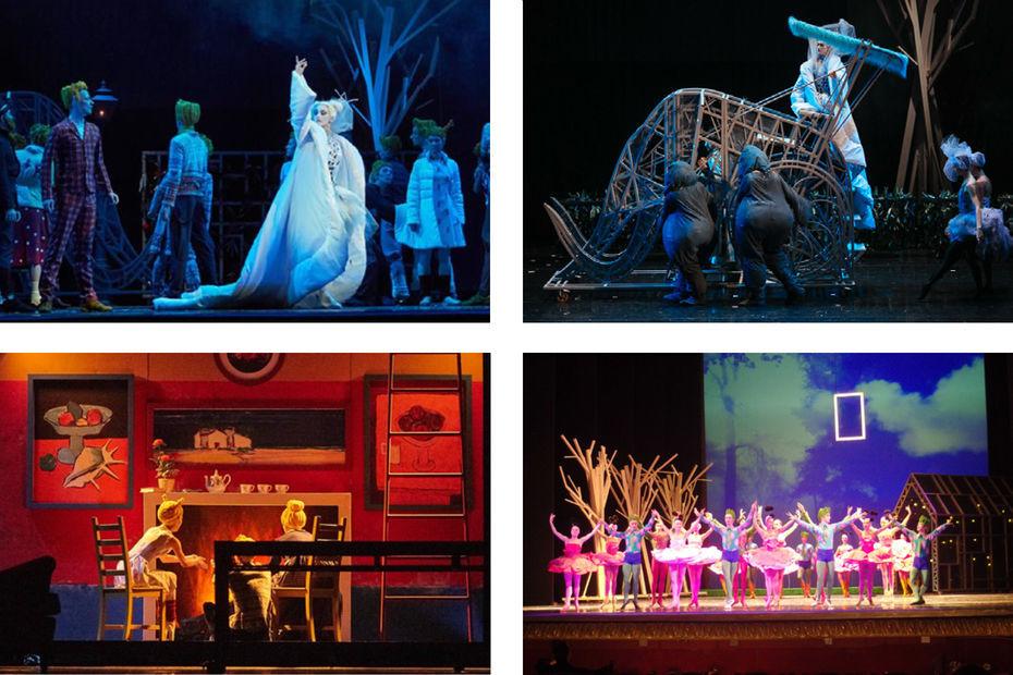 Сценография балета «Снежная королева», Екатеринбургский академический театр оперы ибалета