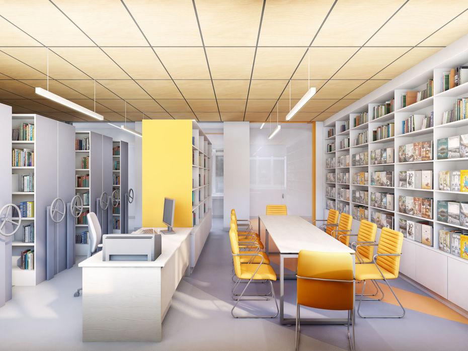 Проект «Читающая Сатка». Дизайн школьной библиотеки