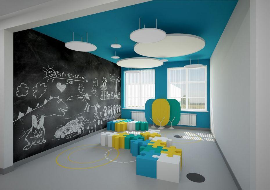 Интерьеры московских школ