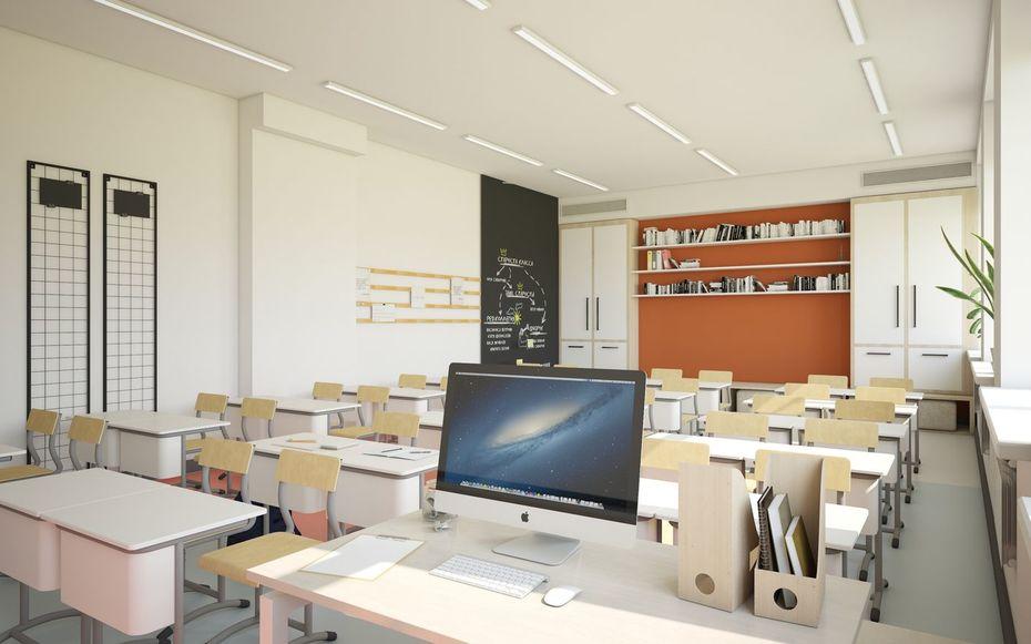 Дизайн образовательного пространства для школ вг. Грозный