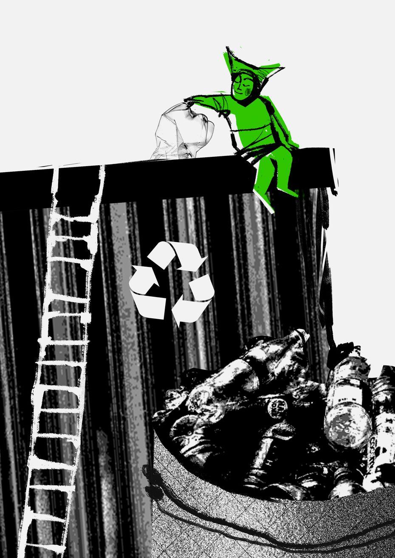 Серия экологических плакатов «Каждый вклад важен»