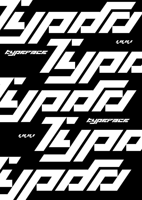 Шрифт Turbo
