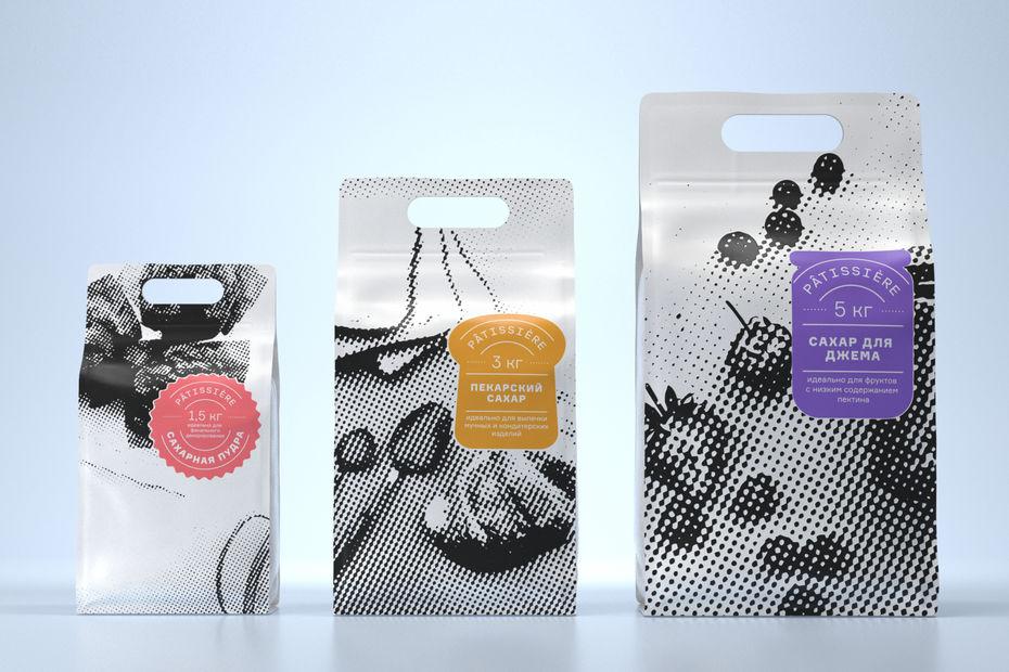 Упаковка сахара Patissiere