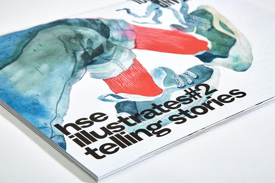 Журнал HSE illustrates #2. Telling Stories
