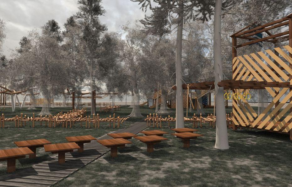 Проектирование парка вгороде Одинцово