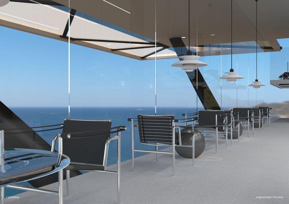Дизайн-проект рекреационного ресторана «RecPoint»