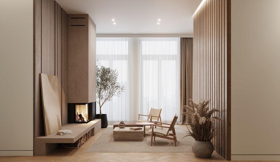 Квартира встиле минимализм